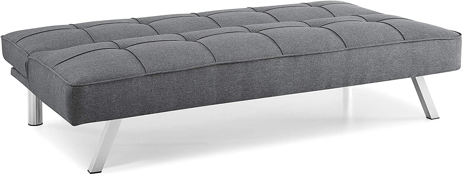 "Serta Rane convertible sofa 66"" in flat bed position"