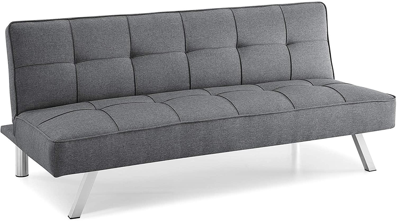 Serta Rane Convertible Sofa, Charcoal