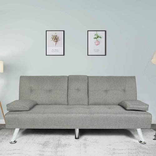 Modern Sofa Bed,Couch for Living Room Classic Upholstered, Soft Surface